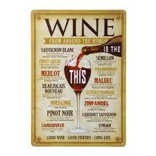 affiche cuisine vintage poster métallique affiche peinture décoratif vintage pour bar