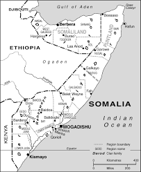 Map Of Somalia Building Blocks Article Africa Confidential