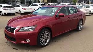red lexus 2014 2014 lexus gs 350 4dr sdn awd technology package review in