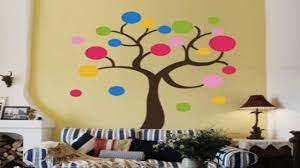 Wall Painting Ideas by Home Decor Ideas For Living Room Interior Wall Painting Ideas