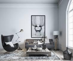 White Front Room Furniture 30 Black U0026 White Living Rooms That Work Their Monochrome Magic