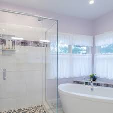 Gray Purple Bathroom - bathroom remodeling experts in massachusetts