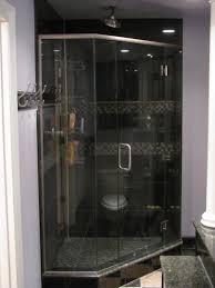 glass shower door splash guard concepts in glass shower enclosures