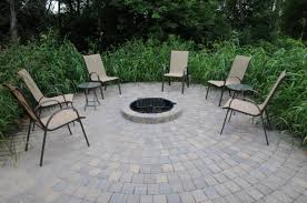 rumblestone fire pit insert above ground fire pit round designs