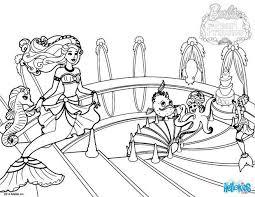 lumina princess mermaid coloring pages hellokids