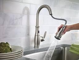 brizo kitchen faucet reviews kitchen touch faucet imindmap us