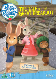 rabbit dvd rabbit the tale of the great breakout dvd kids