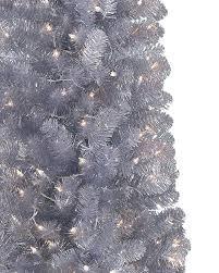 shimmering silver artificial pencil tree treetopia