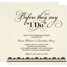 rehearsal dinner invitations wedding rehearsal dinner invitations announcements zazzle
