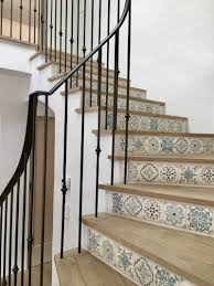giannetti home malibu stair tile interior architecture