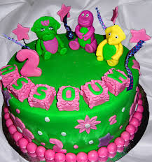 barney birthday cake barney cakes decoration ideas birthday cakes