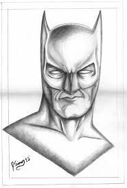batman pencil drawing jsimonart deviantart