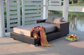 Outdoor Chaise Lounges Furniture Iron Pattrent Outdoor Chaise Lounge For Minimalist