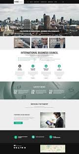 responsive web design layout template template 55478 ibc business responsive website template