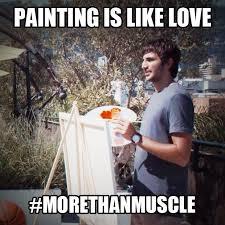 Rubio Meme - ricky rubio says painting is like love in ricky rubio painting