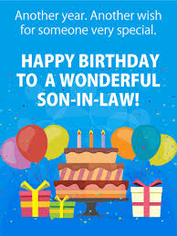 birthday cards for son in law birthday u0026 greeting cards by davia