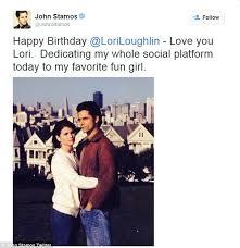 Lori Loughlin Thong - lori loughlin celebrates birthday with fuller house s john stamos