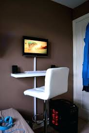Make A Standing Desk by Desk How To Make An Adjustable Stand Up Desk How To Build Sit