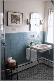 blue bathroom tile ideas best ideas of blue tiles bathroom ideas on white varnished wooden