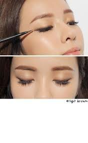 light brown gel eyeliner 3ce colored gel eyeliner in colors light brown and l o v e vivid