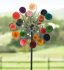 Windart Raindrops Wind Spinner Decorative Garden Accents Wishlist