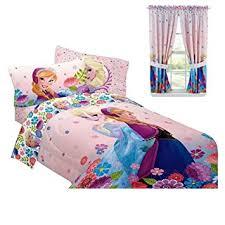 Disney Frozen Bedroom by Amazon Com Disney Frozen Bedroom Decor Anna U0026 Elsa Comforter