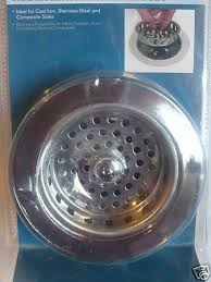 pegasus kitchen sink strainer 112 704 chrome ebay