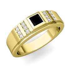 mens wedding bands mens wedding bands suppliers and manufacturers my princess cut black mens wedding band in 14k gold