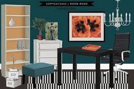 copy cat chic room redo colorful office copycatchic