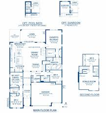 union park dining room biscayne ii a new home floor plan at union park 65 u0027s by homes by