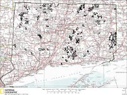 Algonquin Map Connecticut State Forests