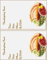 free printable thanksgiving invitation with menu on it brandhawaii co