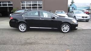 2010 lexus es 350 base reviews 2010 lexus es350 black stock 357273 walk around youtube