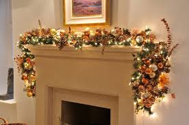 garland with lights target lowes for mantle