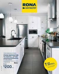 rona brown kitchen cabinets rona installation service qc by rona issuu