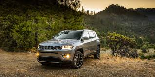 brown jeep 2018 jeep compass vehicles on display chicago auto show