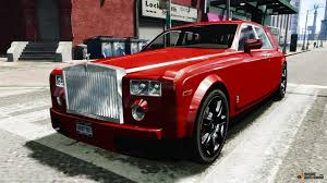 roll royce red rolls royce phantom for gta 4