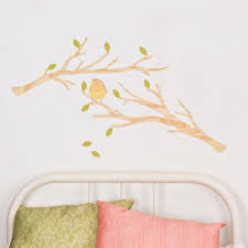 wall stickers the little kidz closet love mae branches fabric wall sticker small