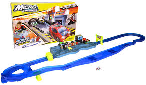 amazon com micro chargers pro racing pit stop track toys u0026 games