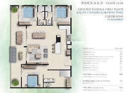 plan appartement 3 chambres plan appartement 3 chambres ki residences pereybere grand baie ile