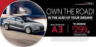 audi a3 sedan lease 2016 a3 lease special island ny audi of smithtown