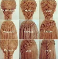 types of hair braids 25 easy hairstyles with braids how to diy cozy home