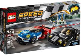 lego ford ranger lego 75881 2016 ford gt u0026 1966 ford gt40 lego sets speed