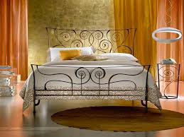 Shabby Chic Metal Bed Frame by Shabby Chic Wrought Iron Bed Frame House Design