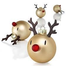 reindeer simple design adorable ornaments