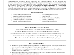 hospitality resume templates free bar manager cv manager resume