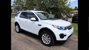 land rover white 2016 2016 land rover discovery sport fuji white youtube