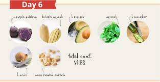 plant based on a budget how i ate well on 5 a day