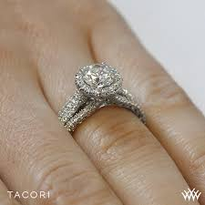 engagement rings ta tacori ht 2551 rd 65 crescent row engagement
