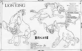 image model sheet banzai png lion king wiki fandom